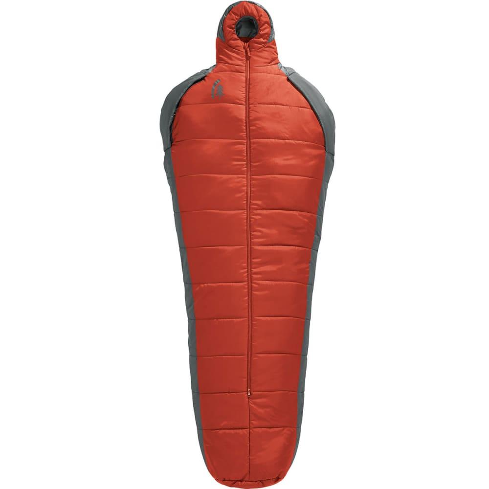 SIERRA DESIGNS Mobile Mummy 1.5 Season SYN Sleeping Bag, Long - POMPEIAN RED