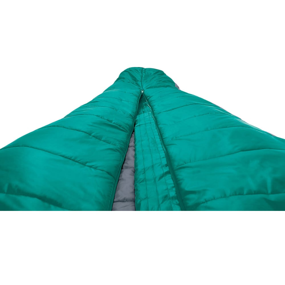 SIERRA DESIGNS Women's Mobile Mummy 1.5 Season SYN Sleeping Bag - TROPICAL GREEN