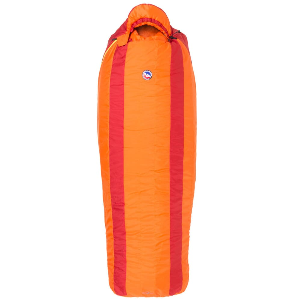BIG AGNES Gunn Creek 30° Sleeping Bag 2014, Long - ORANGE