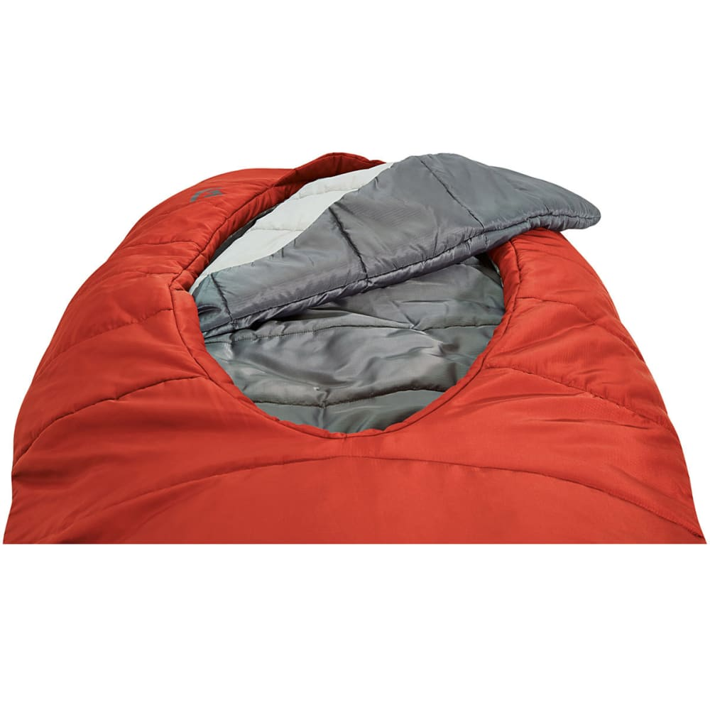 SIERRA DESIGNS 1.5 Season Backcountry Bed SYN Sleeping Bag, Regular - POMPEIAN RED