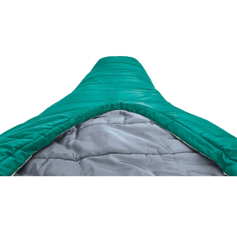SIERRA DESIGNS Women's 1.5 Season Backcountry Bed SYN Sleeping Bag, Regular - POOL GREEN