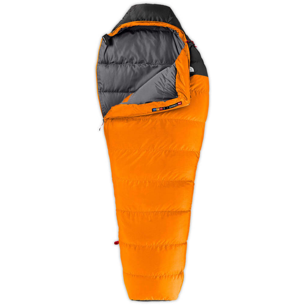 THE NORTH FACE Furnace 35 F Sleeping Bag, Regular - RUSSET ORANGE