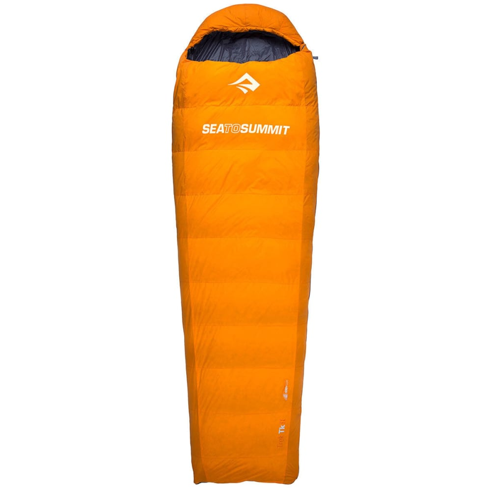 SEA TO SUMMIT Trek TkII Sleeping Bag, Regular - BLACK