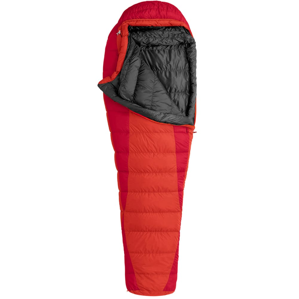 MARMOT Always Summer 40° Sleeping Bag, Long - TEAM RED