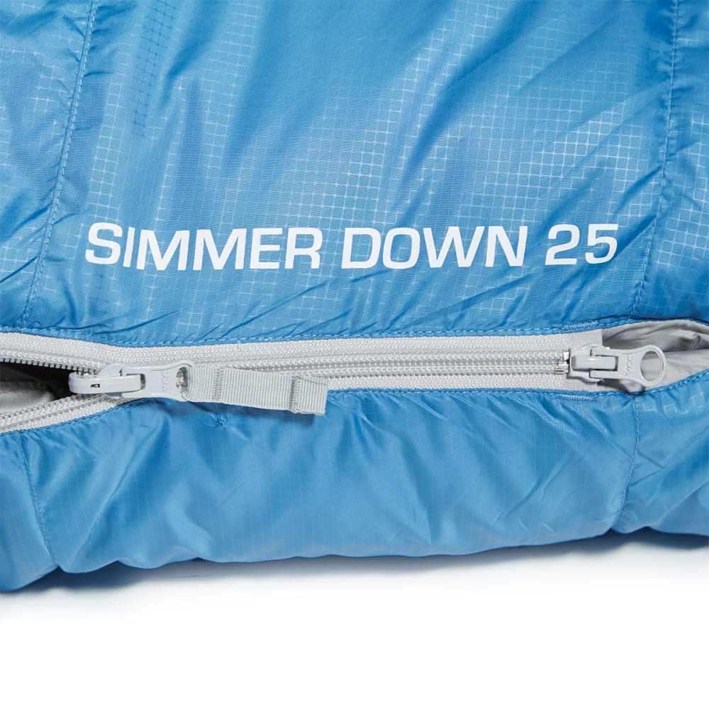 EMS Simmer Down 25° Sleeping Bag - VALLARTA BLUE