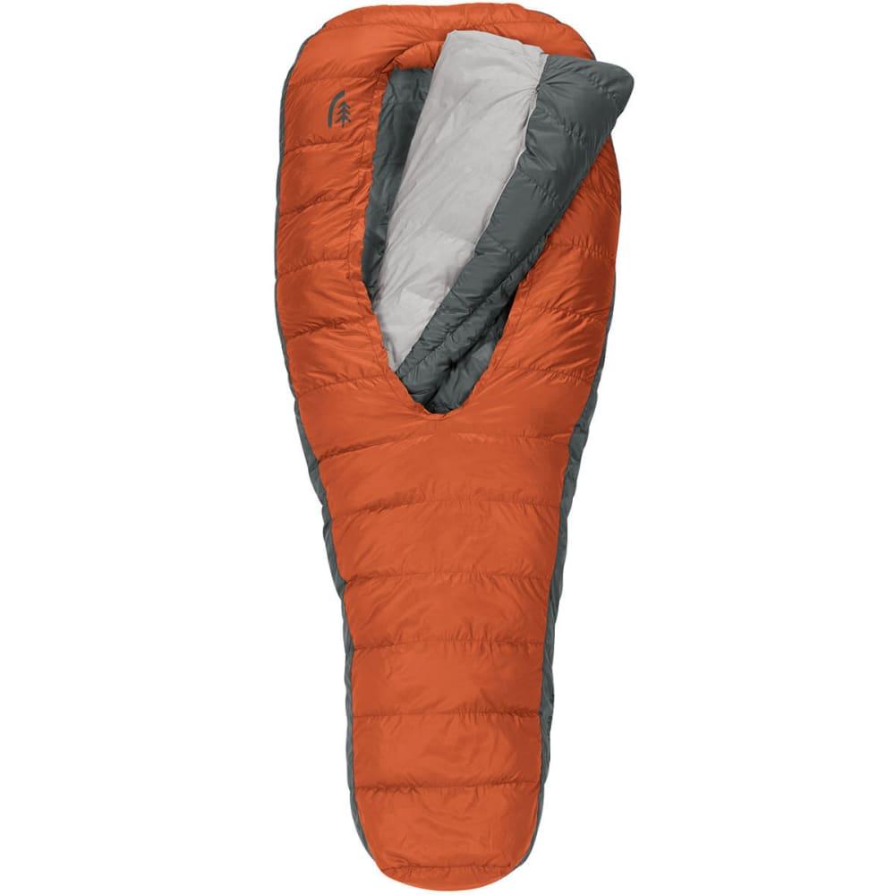 SIERRA DESIGNS Backcountry Bed 600 2 Season Sleeping Bag, Long - RED CLAY