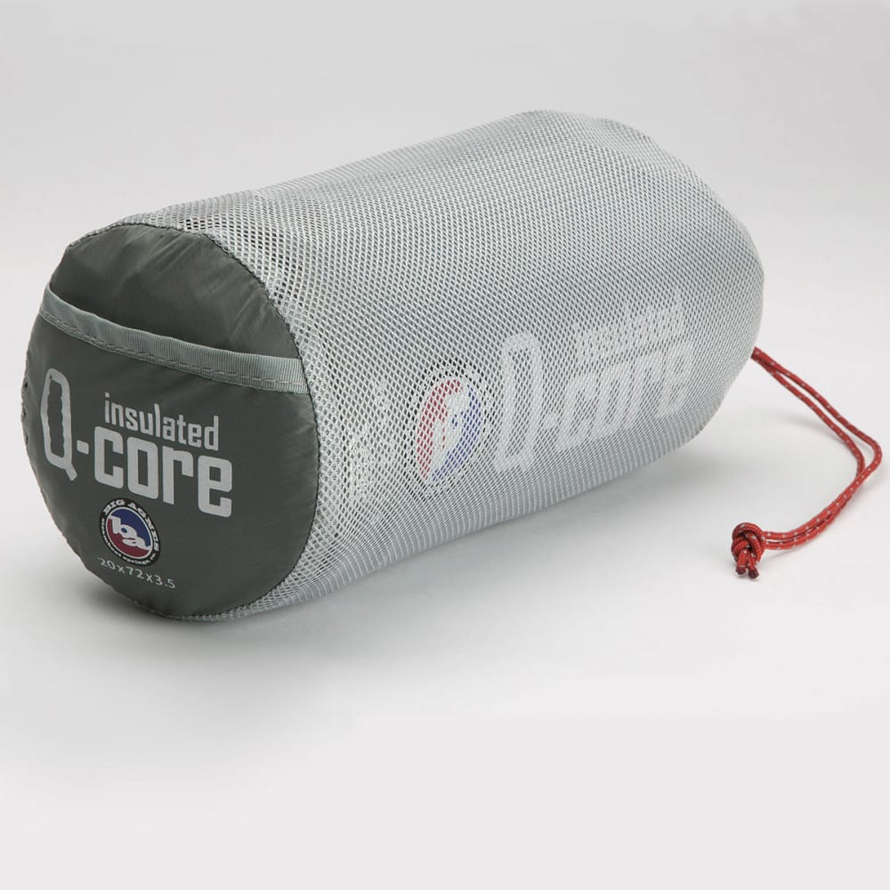 Big Agnes Insulated Q Core Sleeping Pad Wide Long