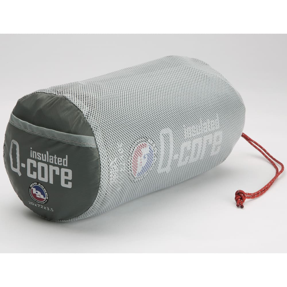BIG AGNES Insulated Q-Core Sleeping Pad, Long - NONE