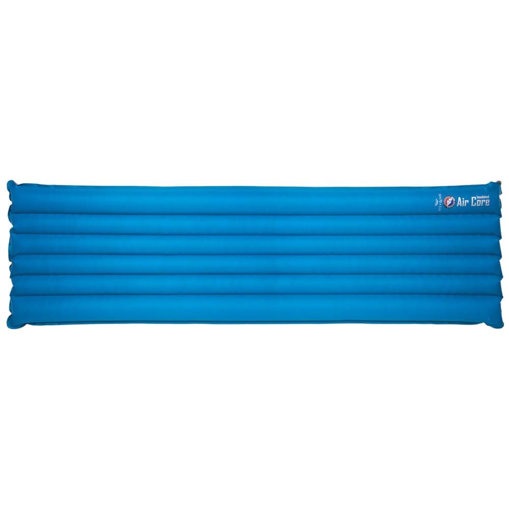 BIG AGNES Air Core Insulated Rectangular Sleeping Pad, Wide - BLUE/BLACK