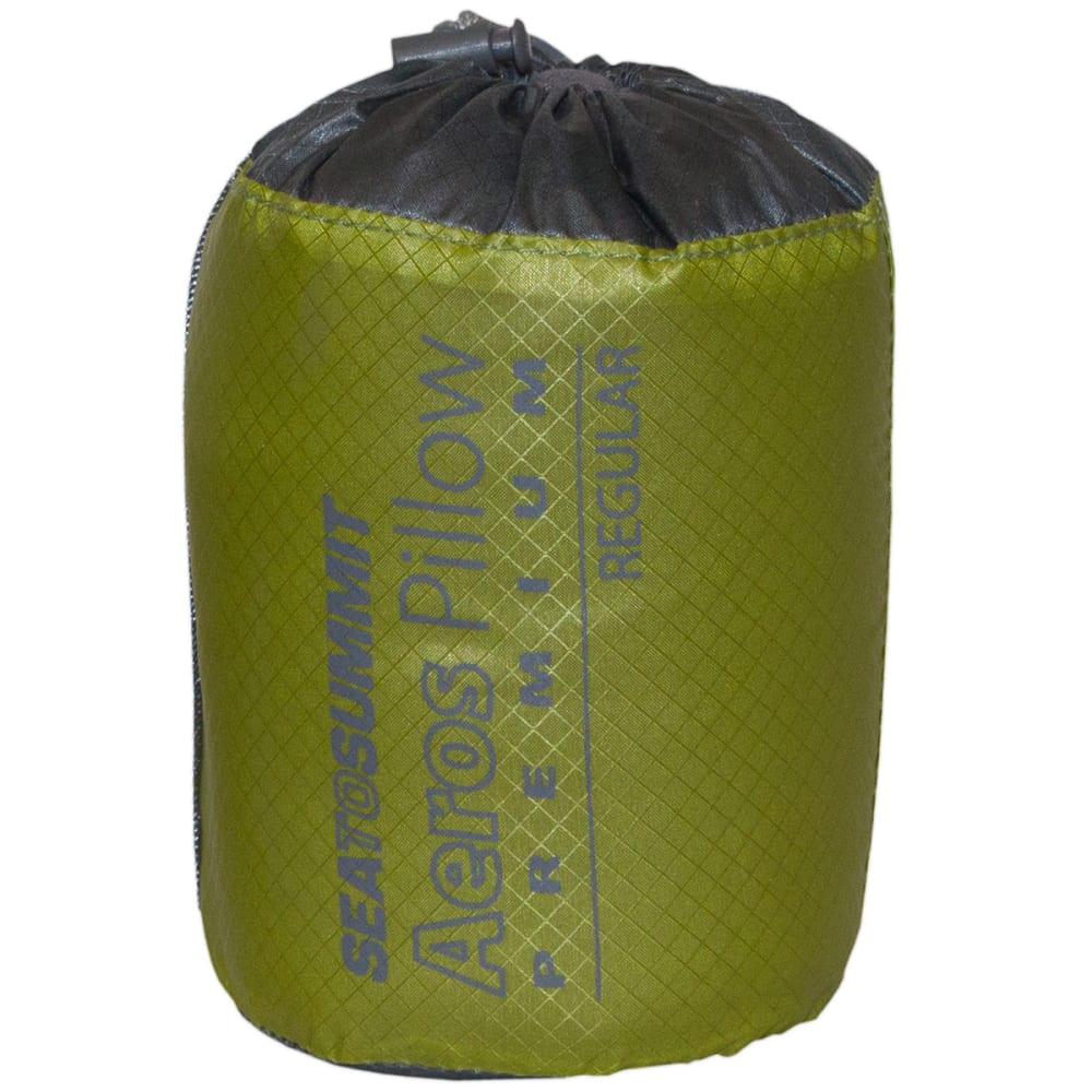 SEA TO SUMMIT Aeros Premium Pillow - GREY/GREEN