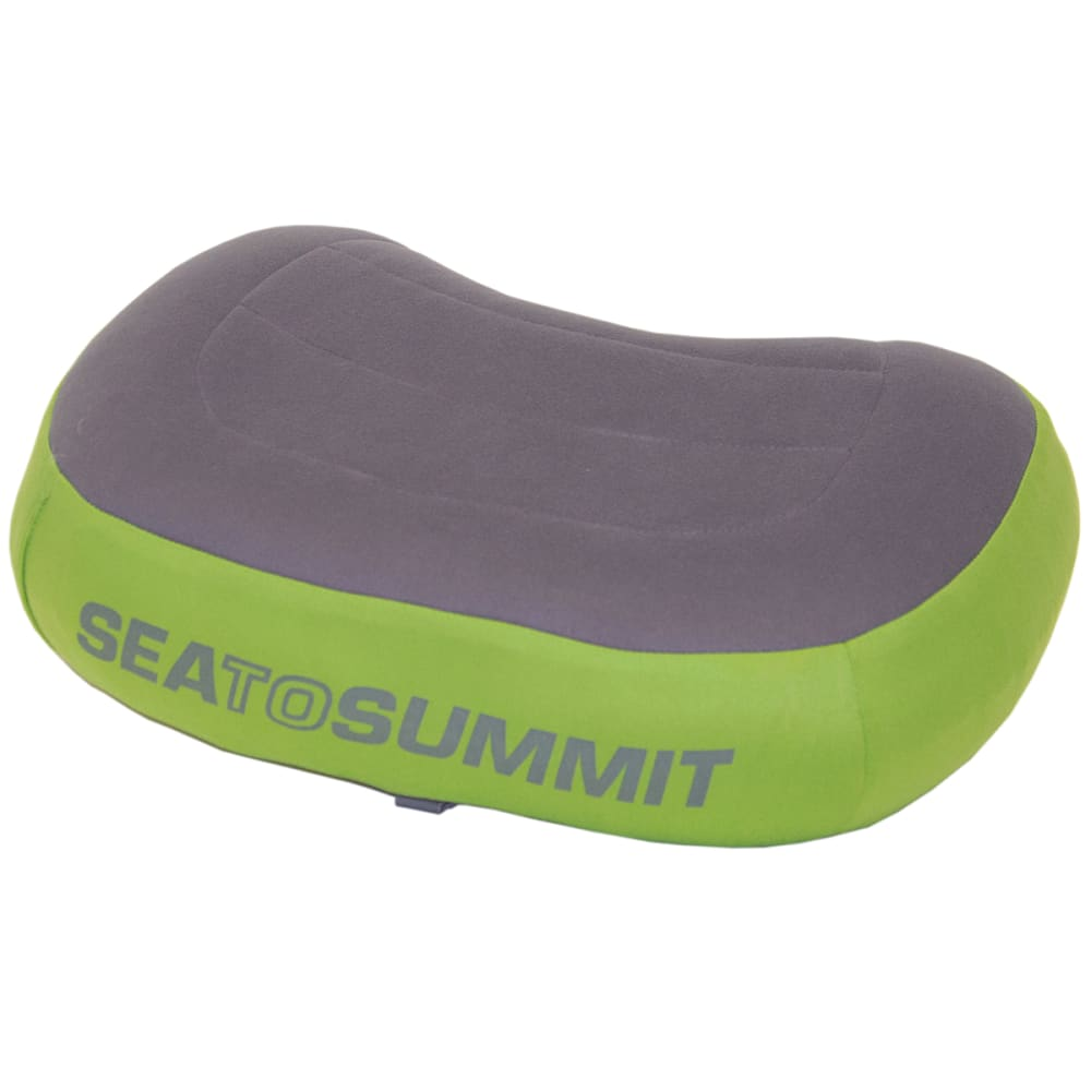 SEA TO SUMMIT Aeros Premium Pillow - GREEN/GREY