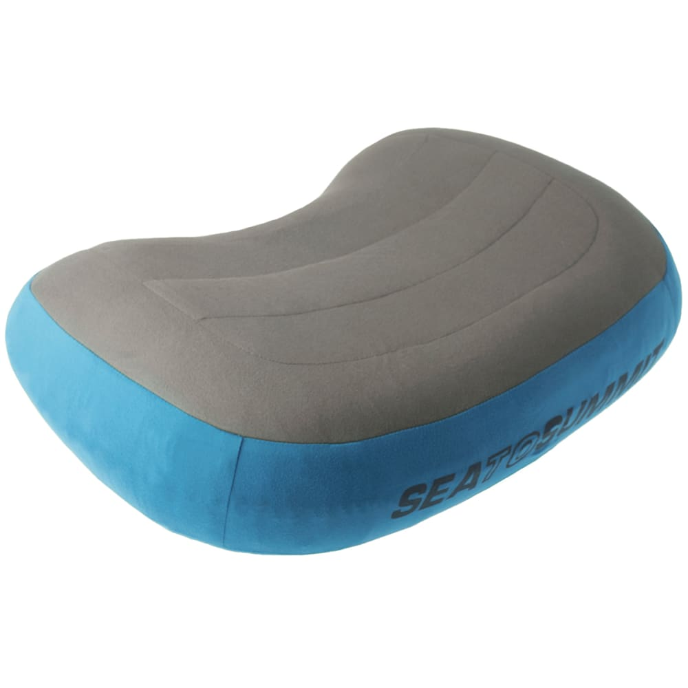SEA TO SUMMIT Aeros Premium Pillow - GREY/BLUE