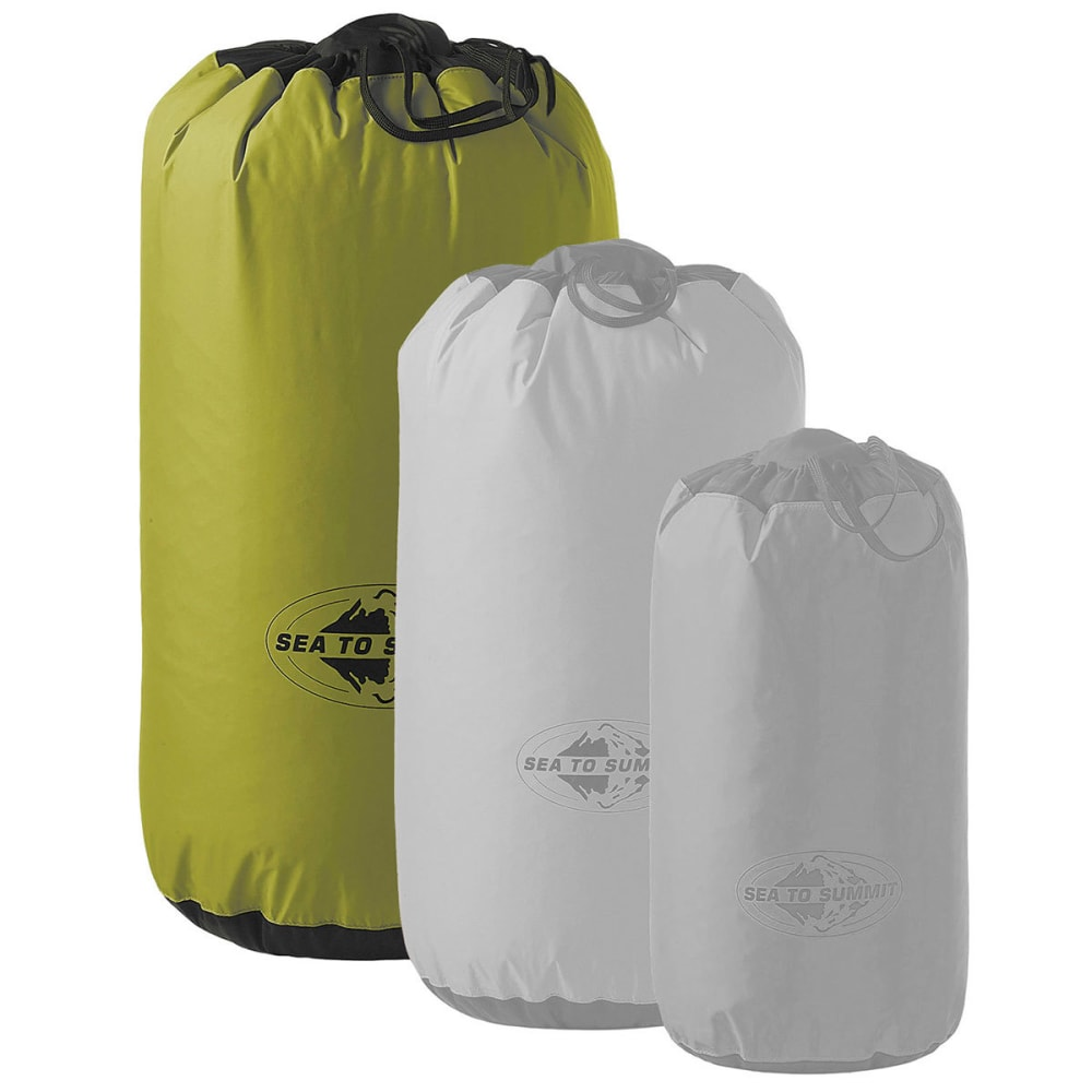 SEA TO SUMMIT Stuff Sack - Medium, 9-Liter - GREEN