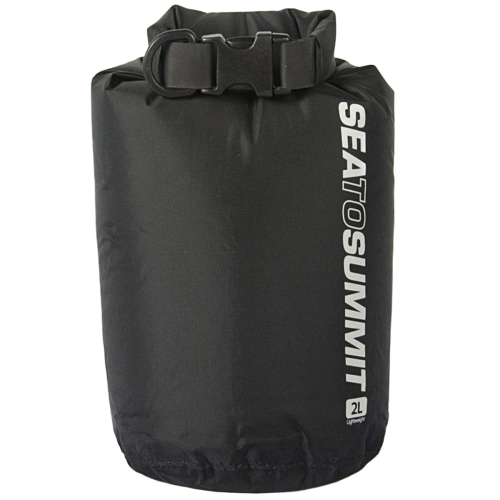SEA TO SUMMIT Travelling Light Lightweight Dry Sack, 2 L - BLACK