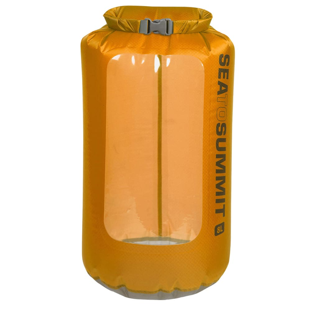 SEA TO SUMMIT Ultra-Sil View Dry Sack, 8 L - ORANGE