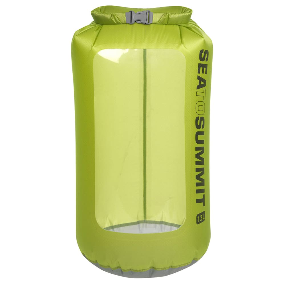SEA TO SUMMIT Ultra-Sil View Dry Sack, 13 L - GREEN