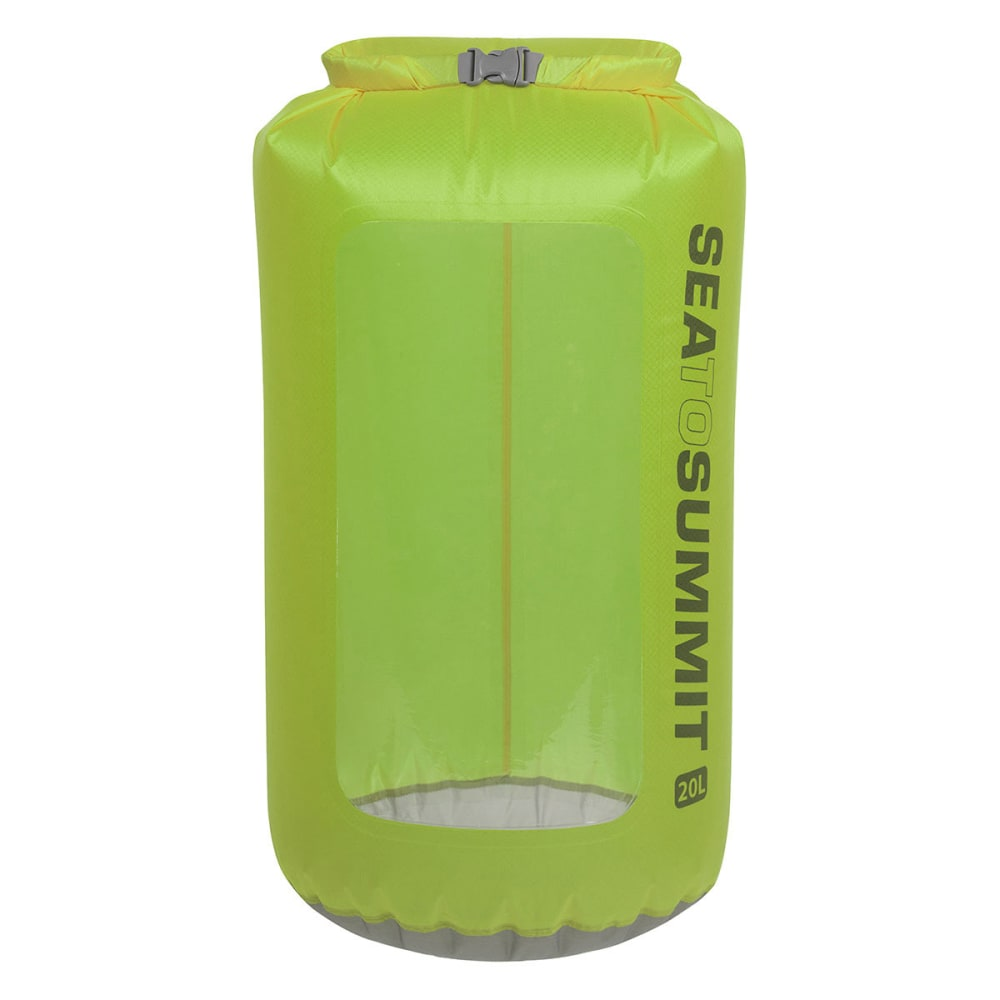 SEA TO SUMMIT Ultra-Sil View Dry Sack, 20 L - GREEN