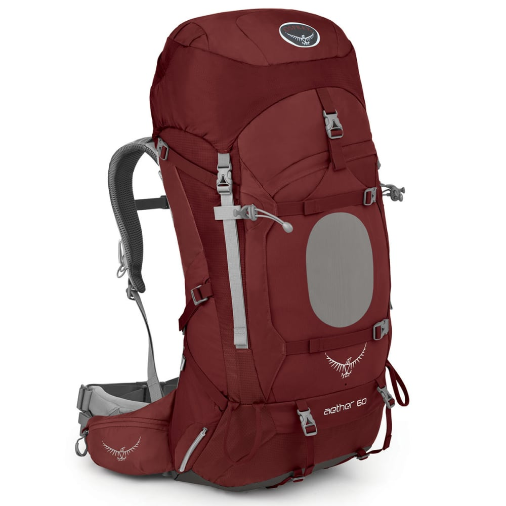 OSPREY Aether 60 Backpack - RED