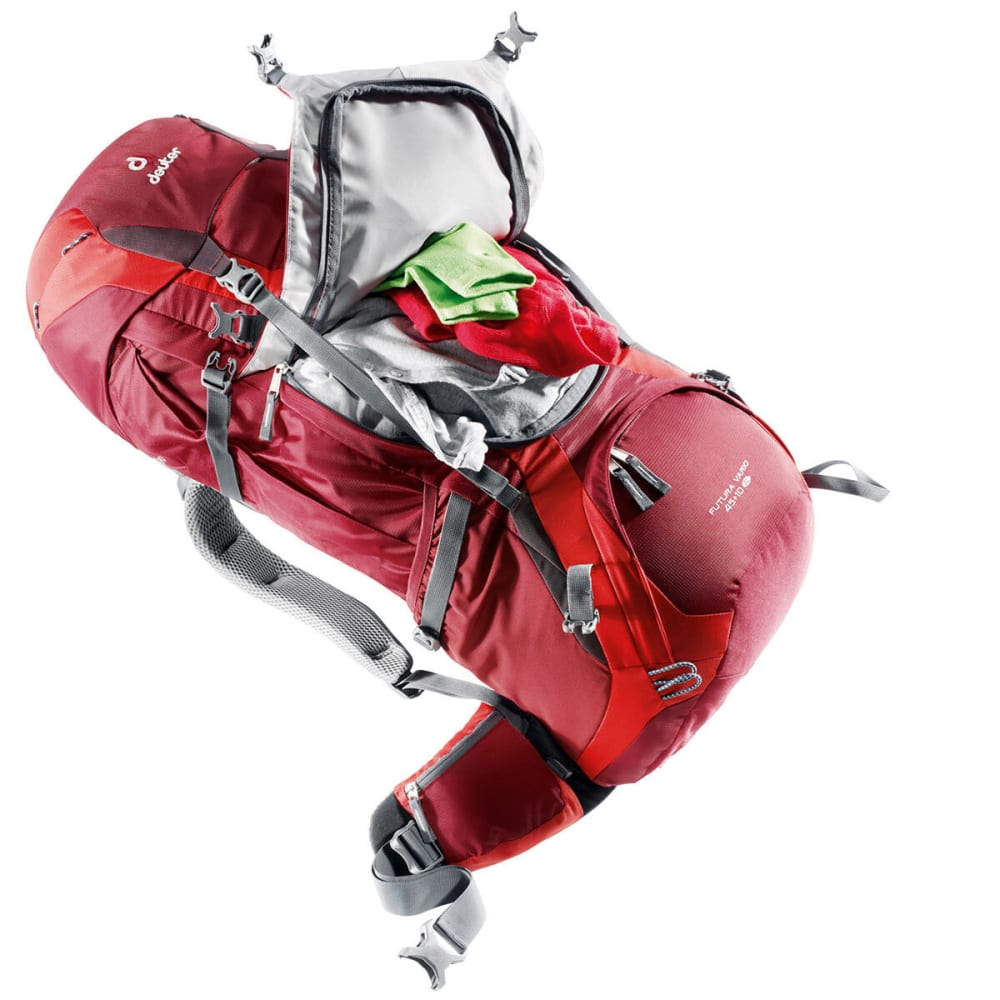 DEUTER Women's Futura Vario Pro 45+10 SL Backpack - CRANBERRY