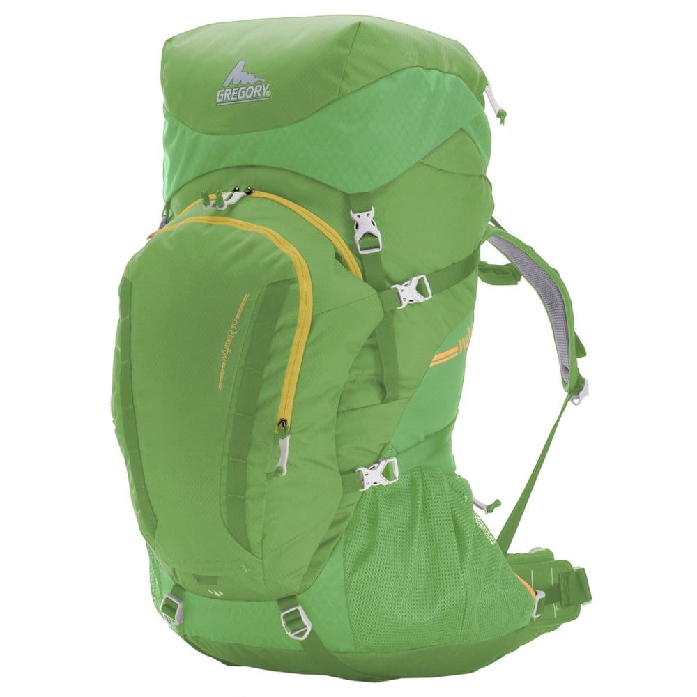 GREGORY Kids' Wander 70 Backpack  - CHLOROPHYLL GREEN
