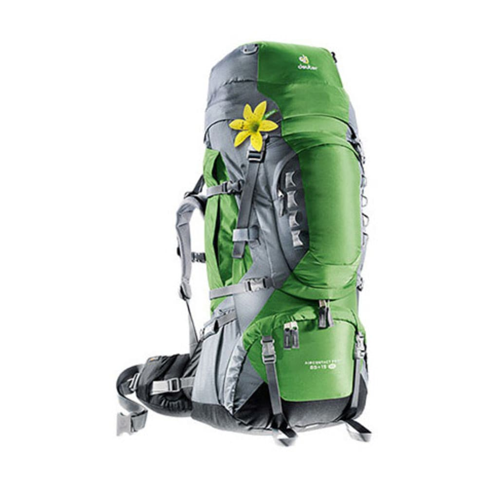 DEUTER Women's Aircontact Pro 65+15 SL Backpack - EMERALD