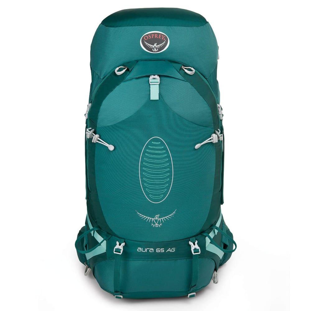 OSPREY Women's Aura AG 65 Backpack - RAINFOREST GREEN