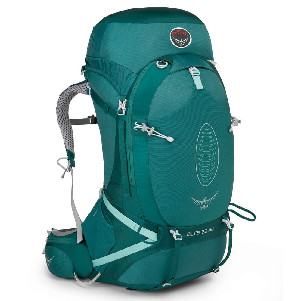 OSPREY Women's Aura AG 65 Backpack - RAINFOREST GREEN