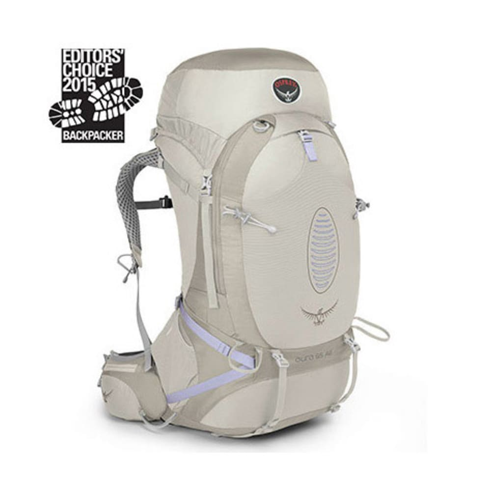 OSPREY Women's Aura AG 65 Backpack, Silver Streak - SILVER