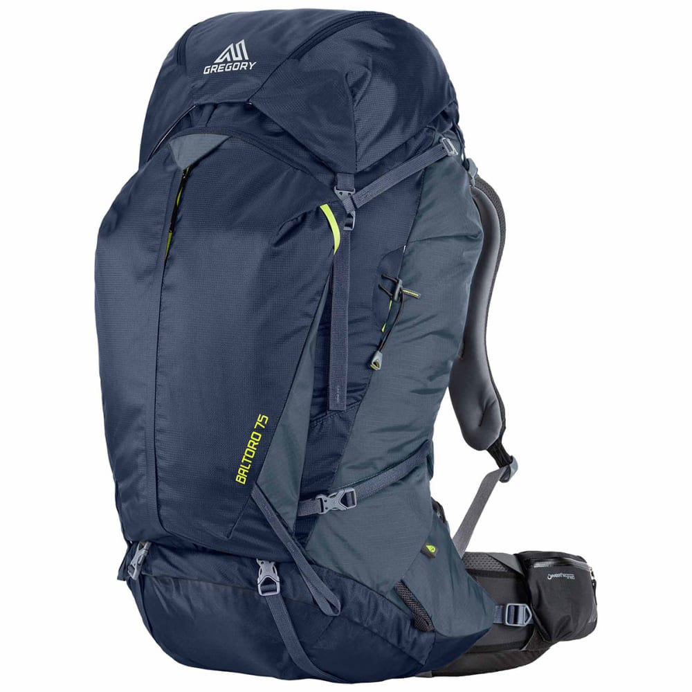 GREGORY Baltoro 75 Backpack  - NAVY BLUE