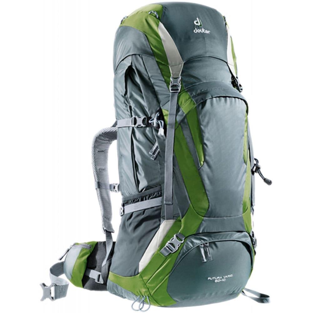 DEUTER Futura Vario 60 + 10 Backpack - GRANITE/PINE/SILVER
