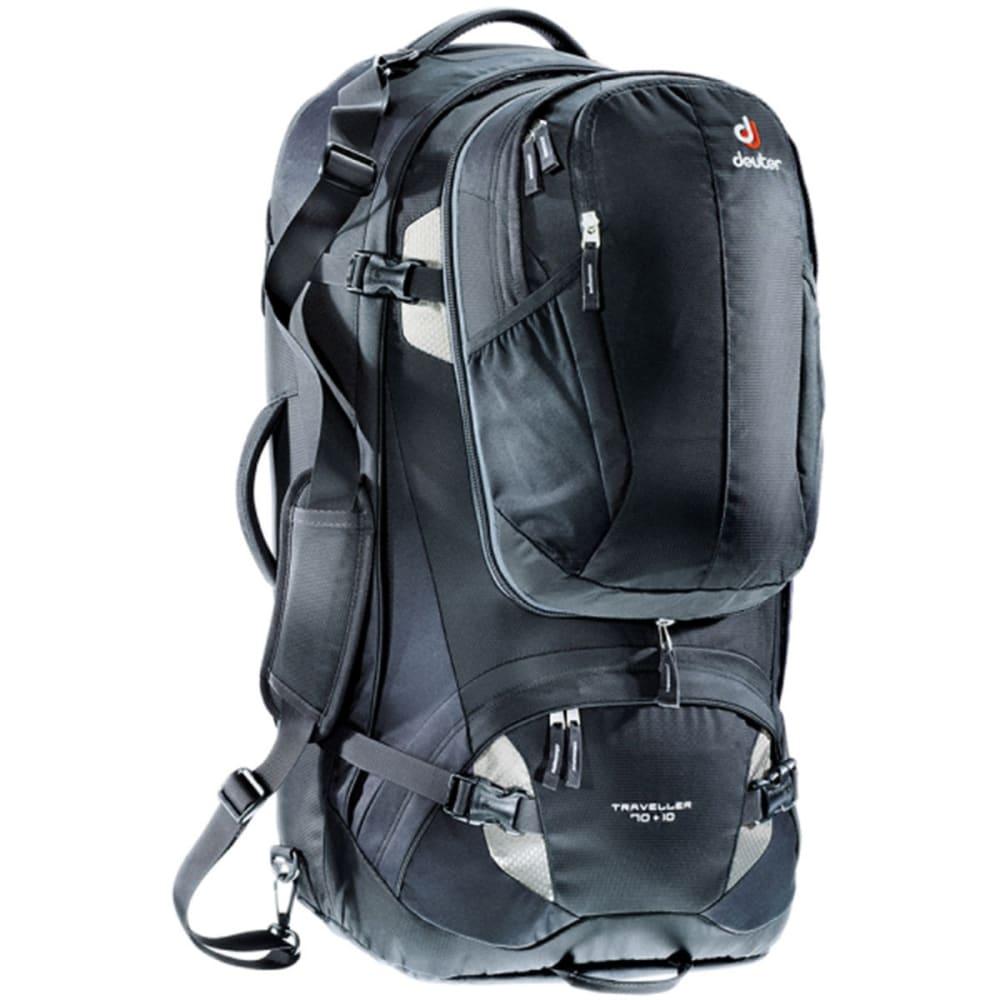 DEUTER Traveler 70 + 10 Conversion Bag - BLACK/SILVER