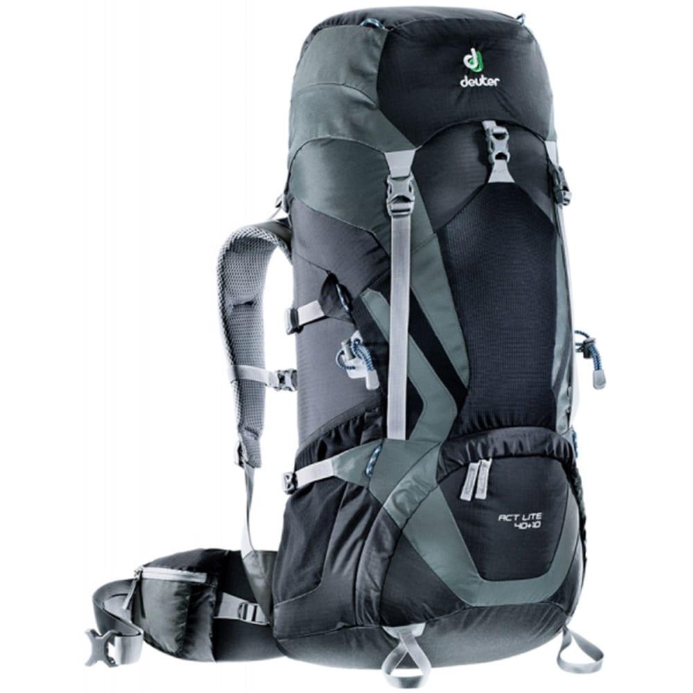 DEUTER ACT Lite 40 + 10 Backpack - BLACK/GRANITE