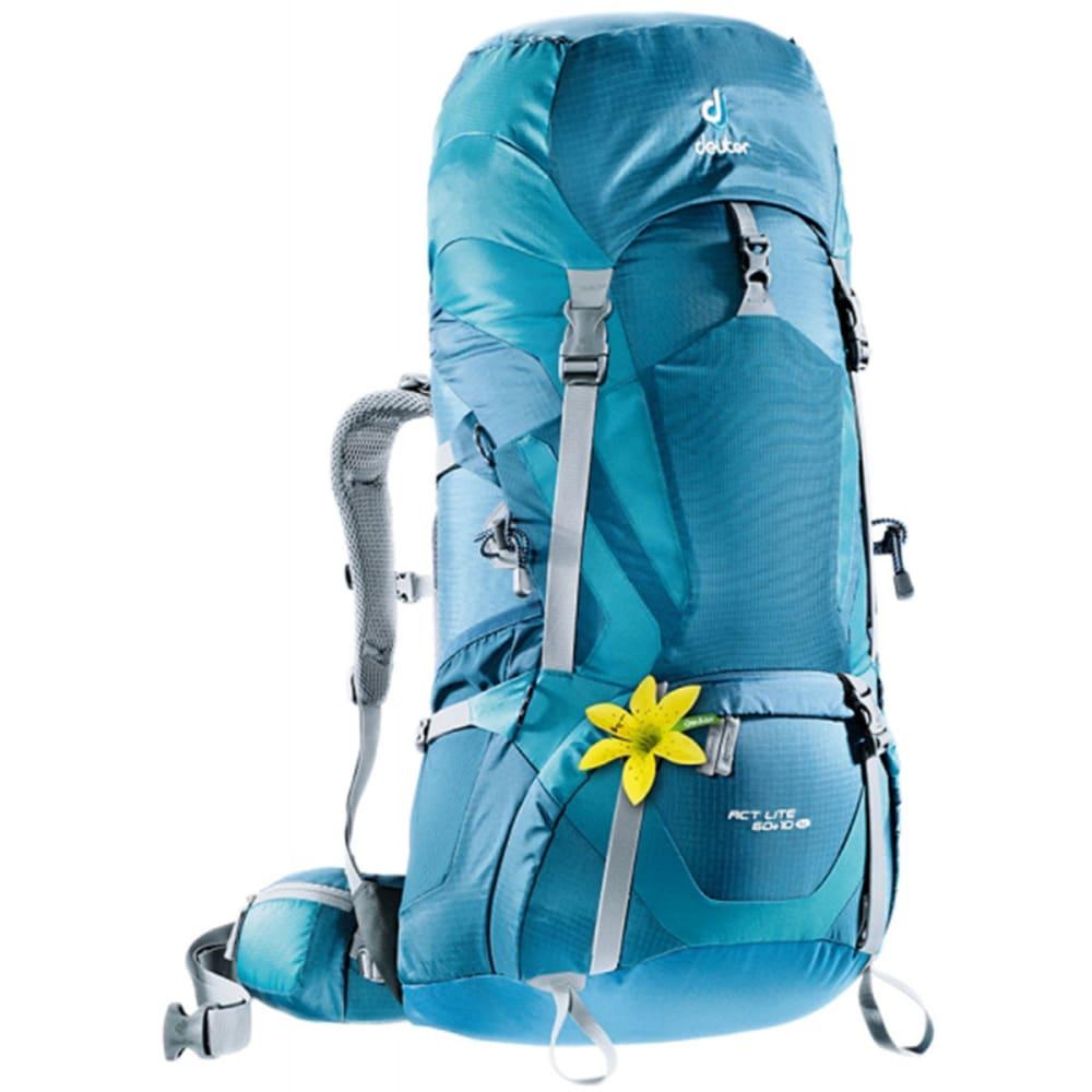 DEUTER Women's ACT Lite 60+10 SL Backpack - ARCTIC/DENIM