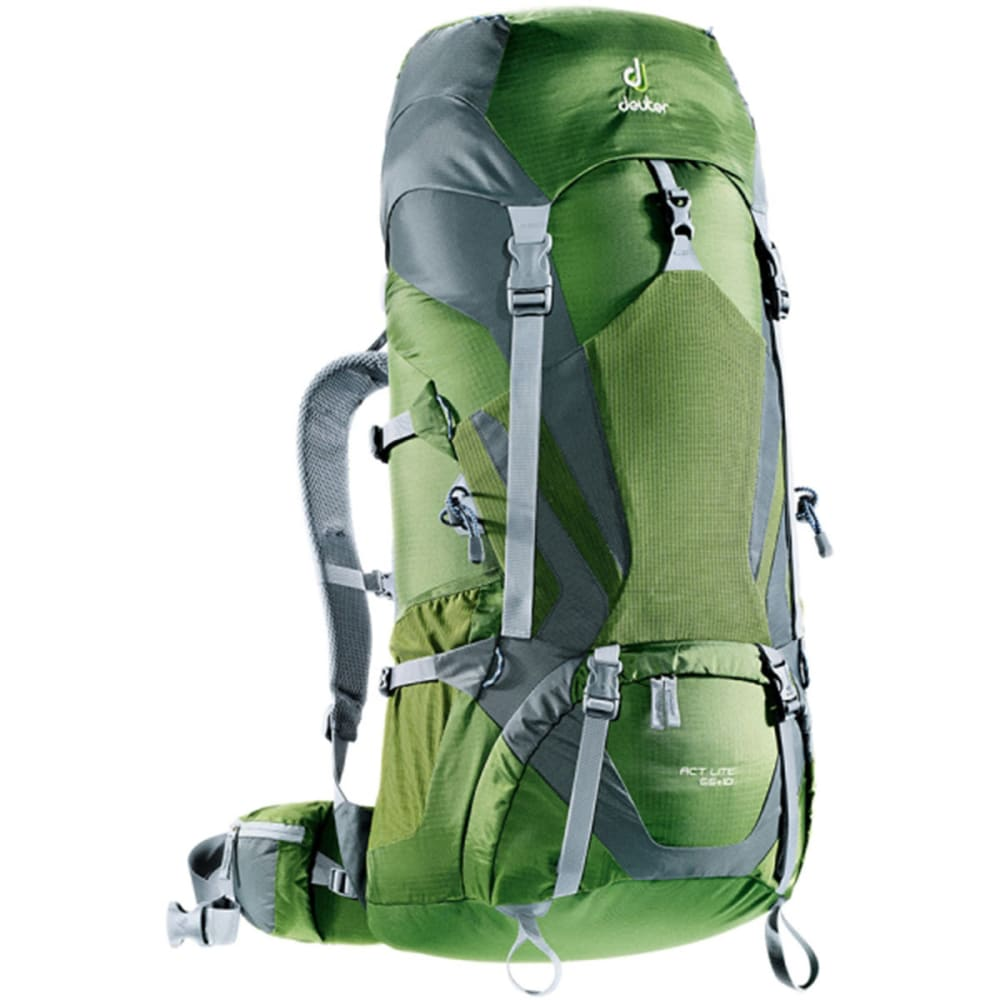 DEUTER ACT Lite 65 + 10 Backpack  - PINE/GRANITE
