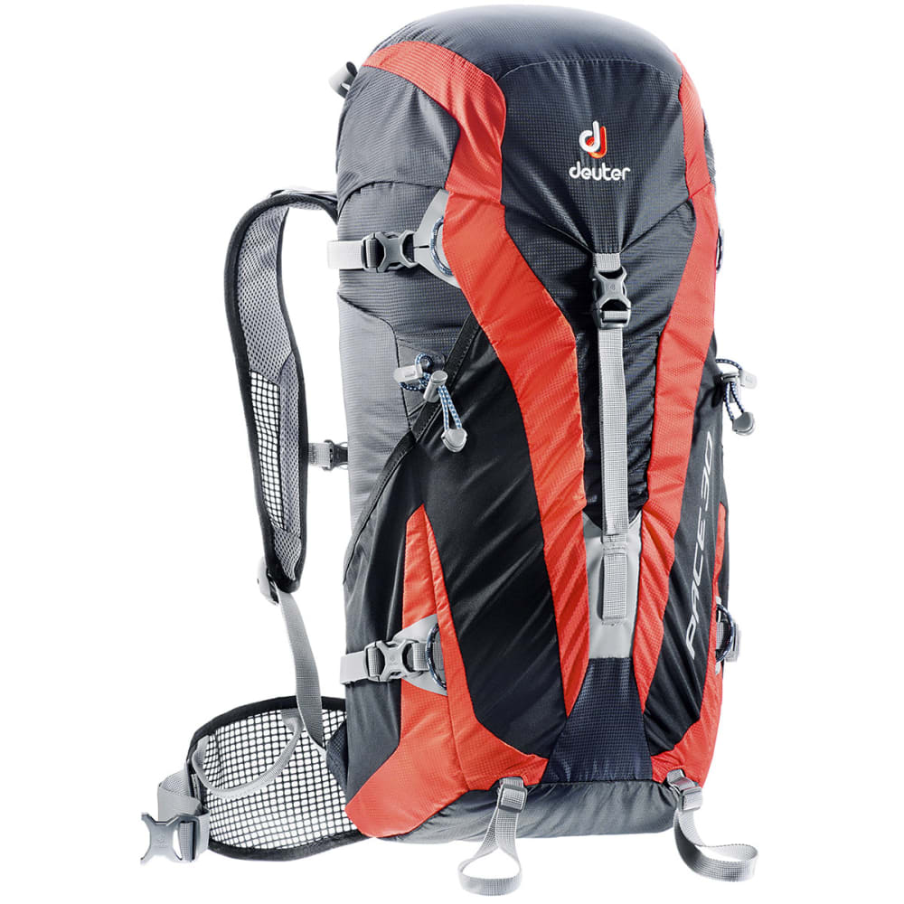 DEUTER Pace 30 Backpack - BLACK/PAPAYA
