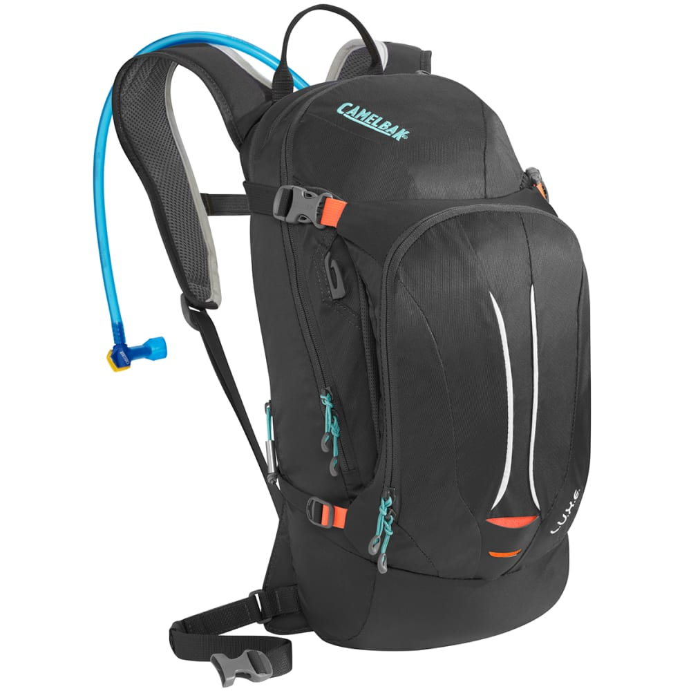 CAMELBAK Women's L.U.X.E. Hydration Pack - CHARCOAL/FIERY CORAL