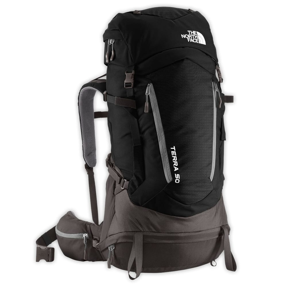 07cbe0f6a THE NORTH FACE Terra 50 Backpack - TNF BLACK/GREY