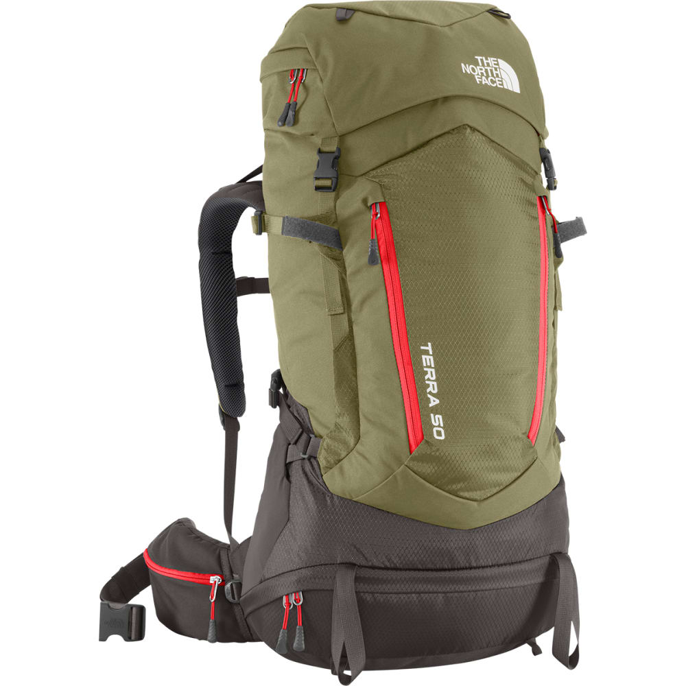 THE NORTH FACE Terra 50 Backpack - MOSS