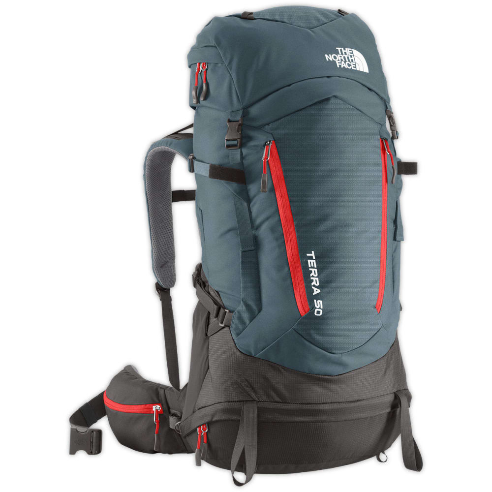 THE NORTH FACE Terra 50 Backpack - CONQUER BLUE
