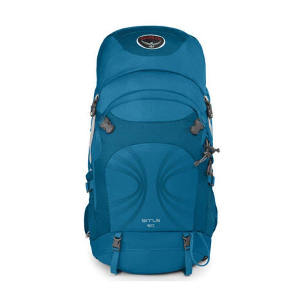 OSPREY Women's Sirrus 50 Backpack - SUMMIT BLUE