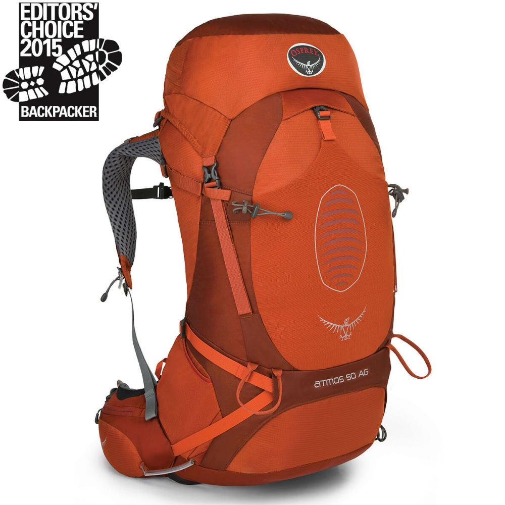 OSPREY Atmos AG 50 Backpack - CINNABAR