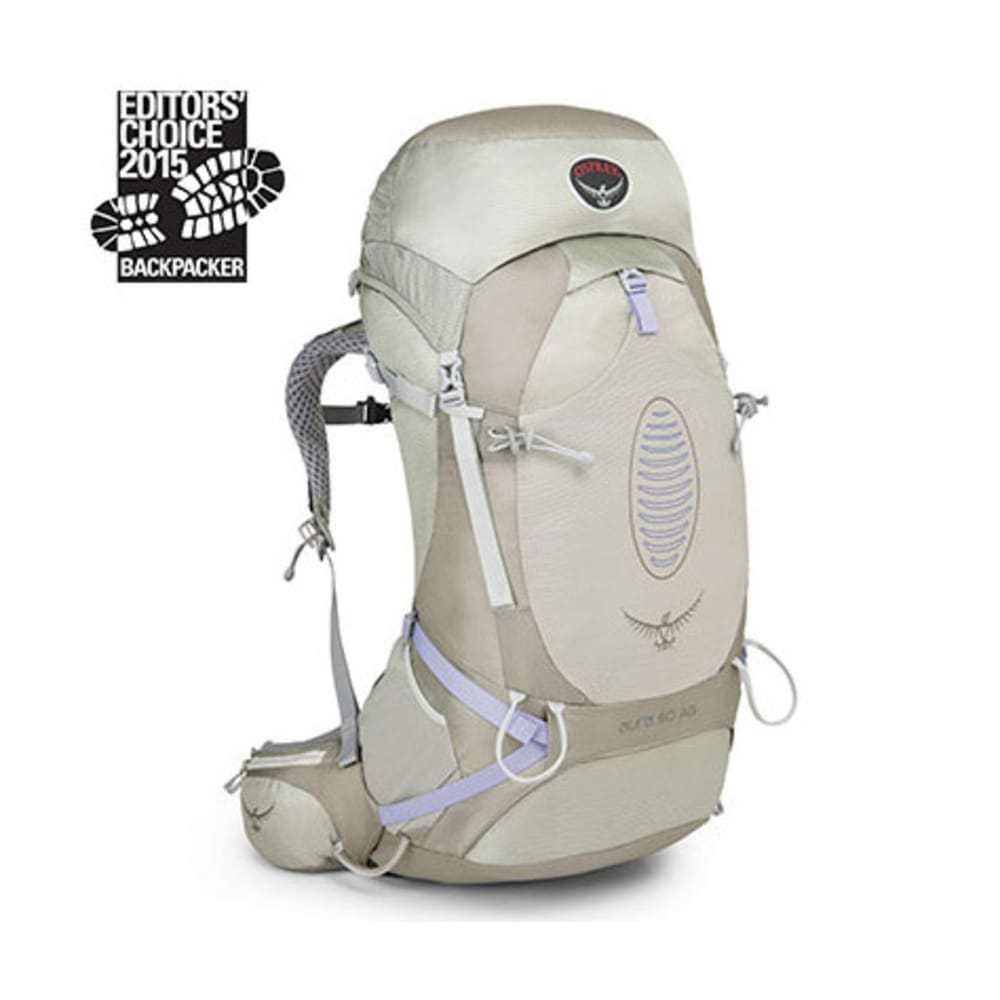 a1edc5b078d ... UPC 845136006577 product image for Osprey Women s Aura AG 50 Backpack,  Silver Streak Silver XS
