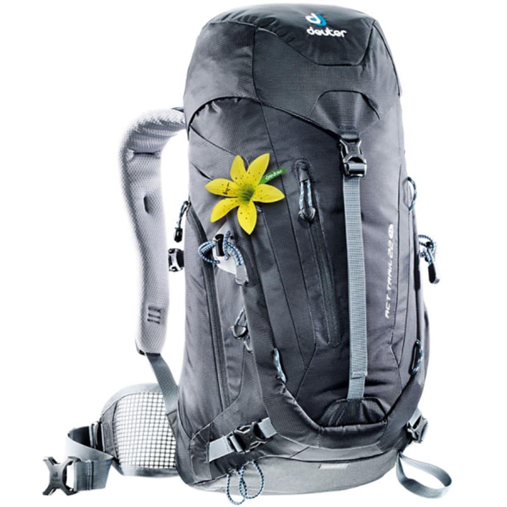 DEUTER Women's ACT Trail 22 SL Backpack - BLACK