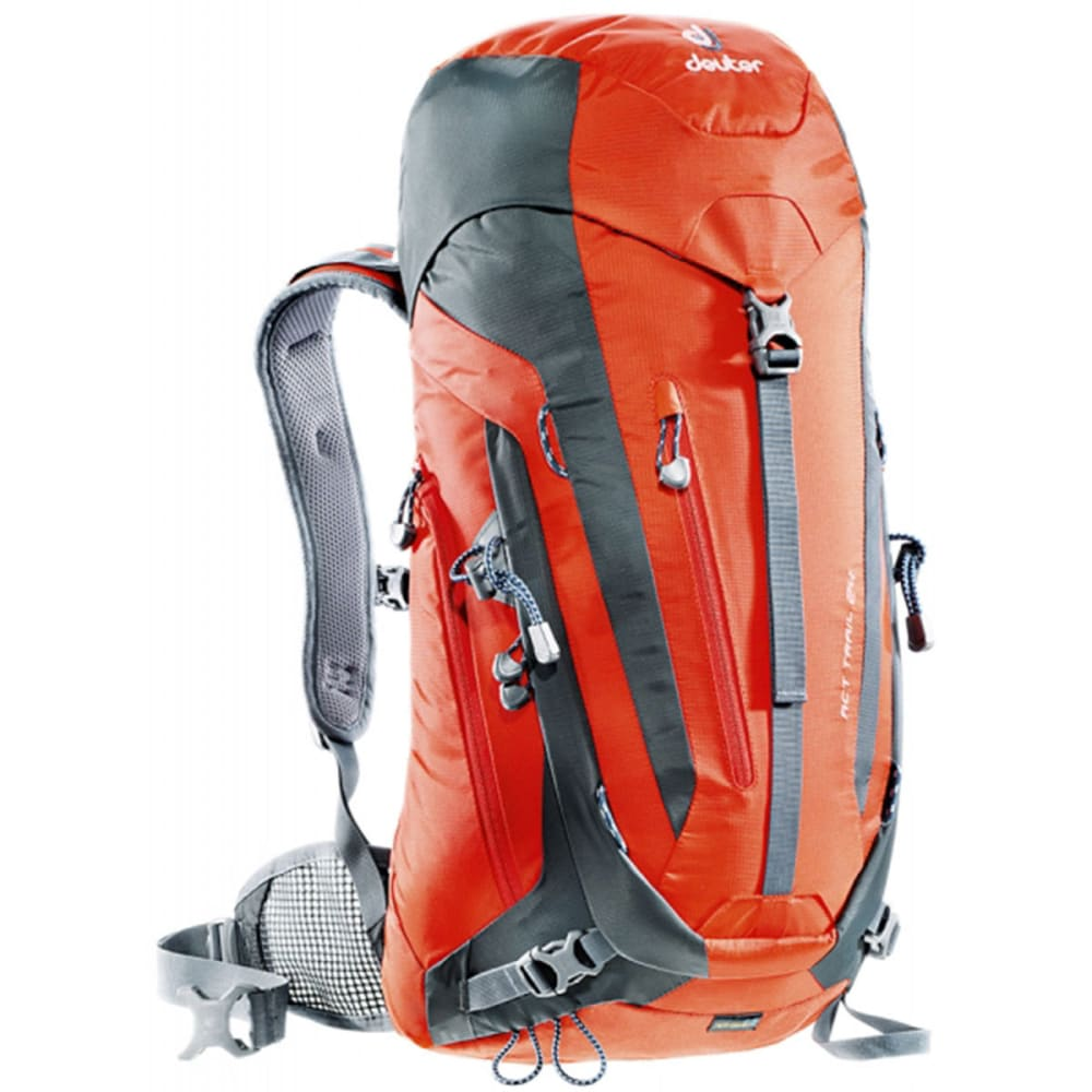 DEUTER ACT Trail 24 Backpack - PAPAYA/GRANITE