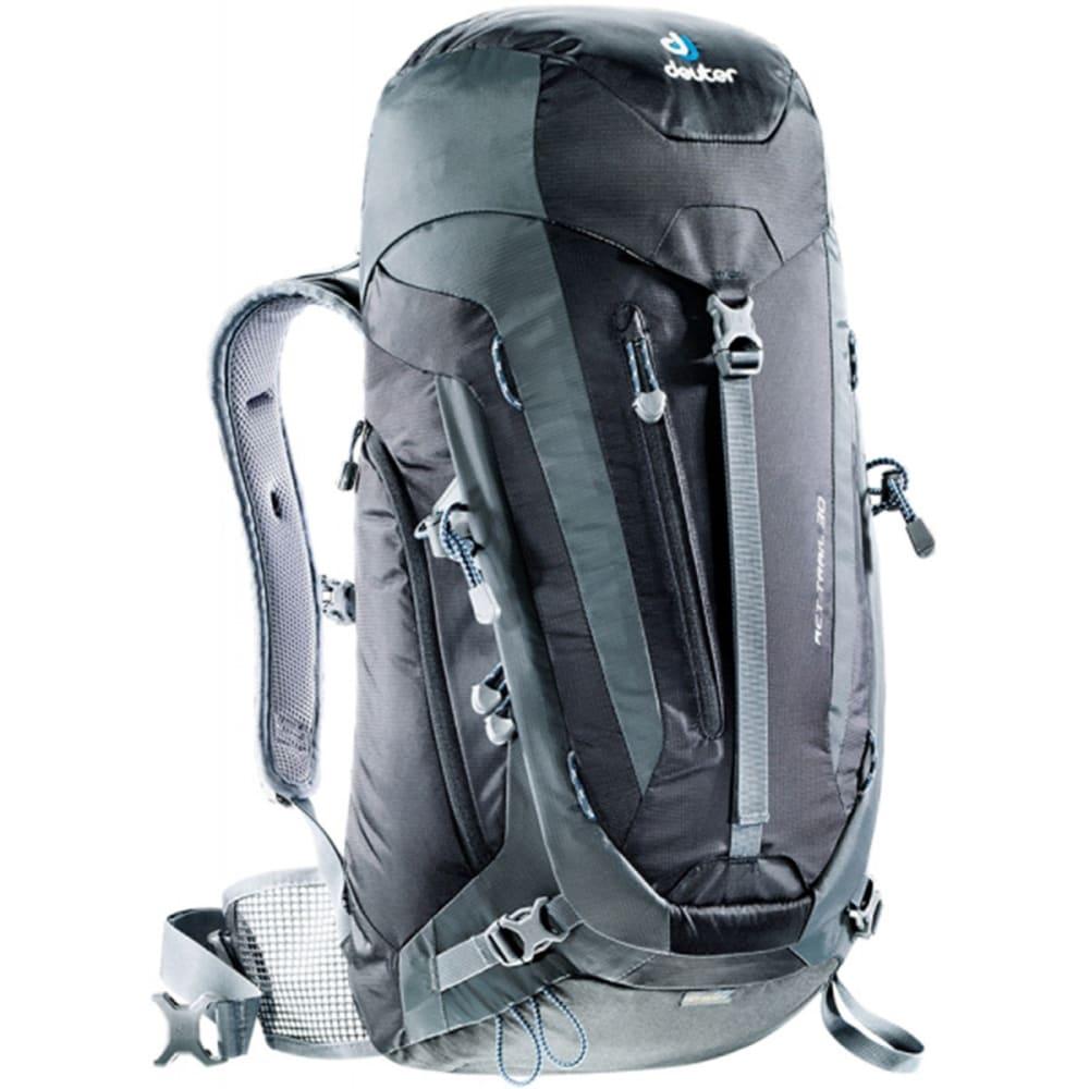 DEUTER ACT Trail 30 Backpack - BLACK/GRANITE