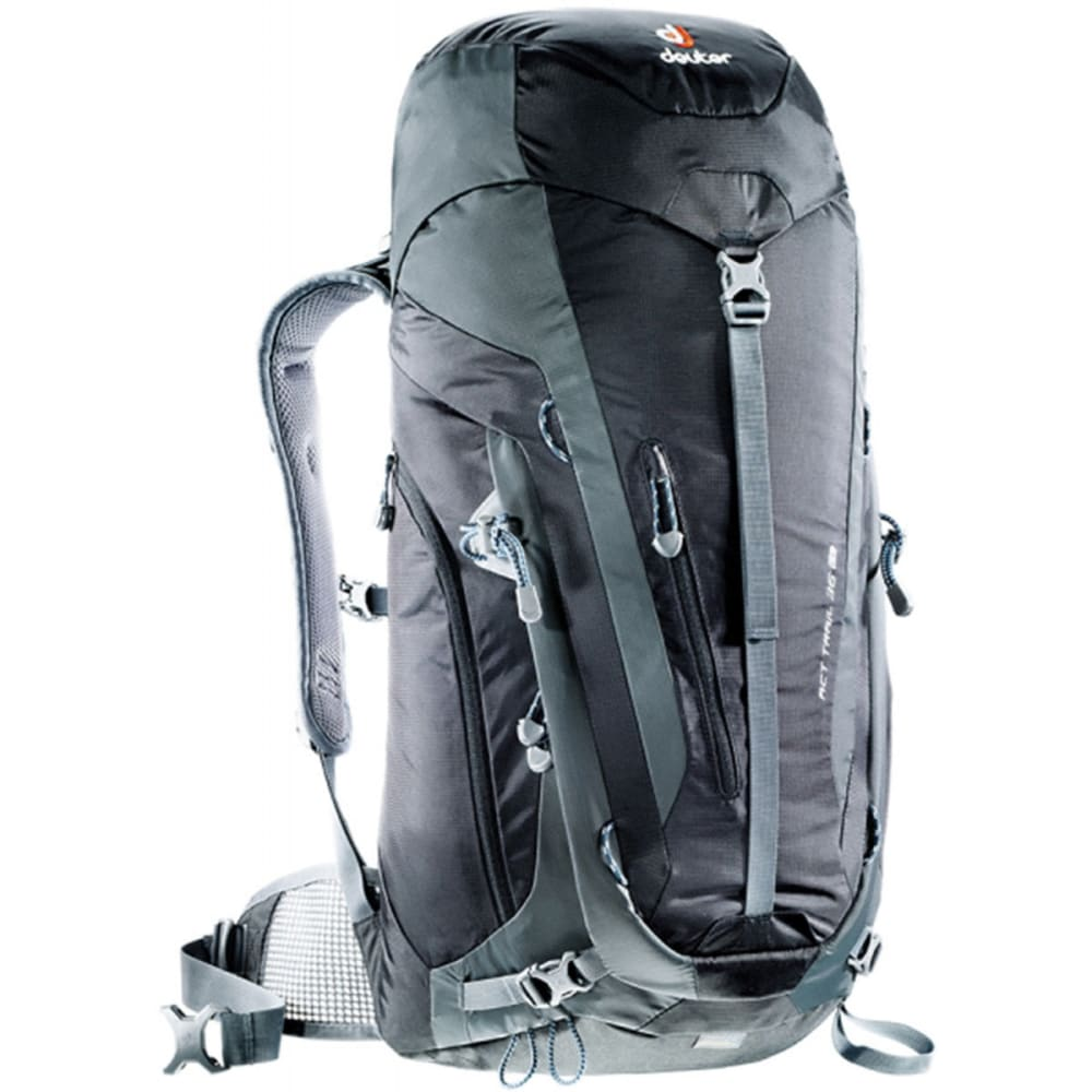 DEUTER ACT Trail 36 EL Backpack - BLACK/GRANITE