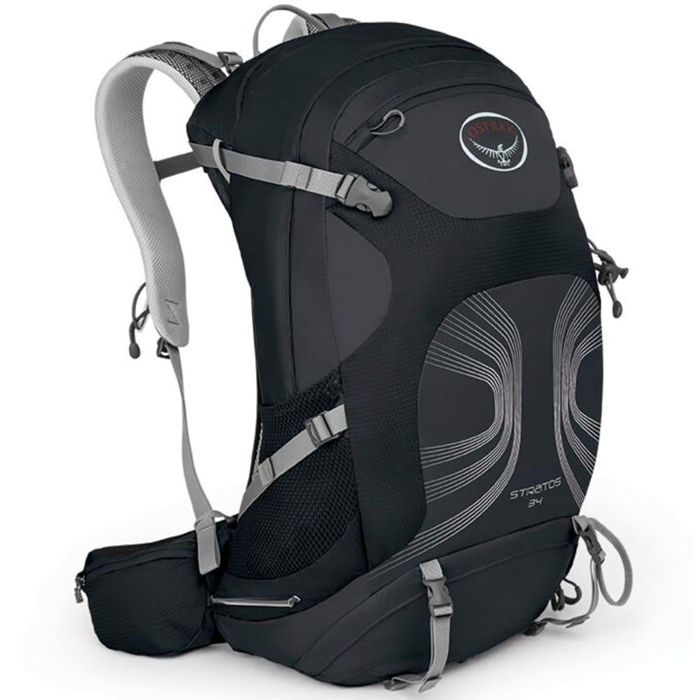 OSPREY Stratos 34 Pack - ANTHRACITE BLACK