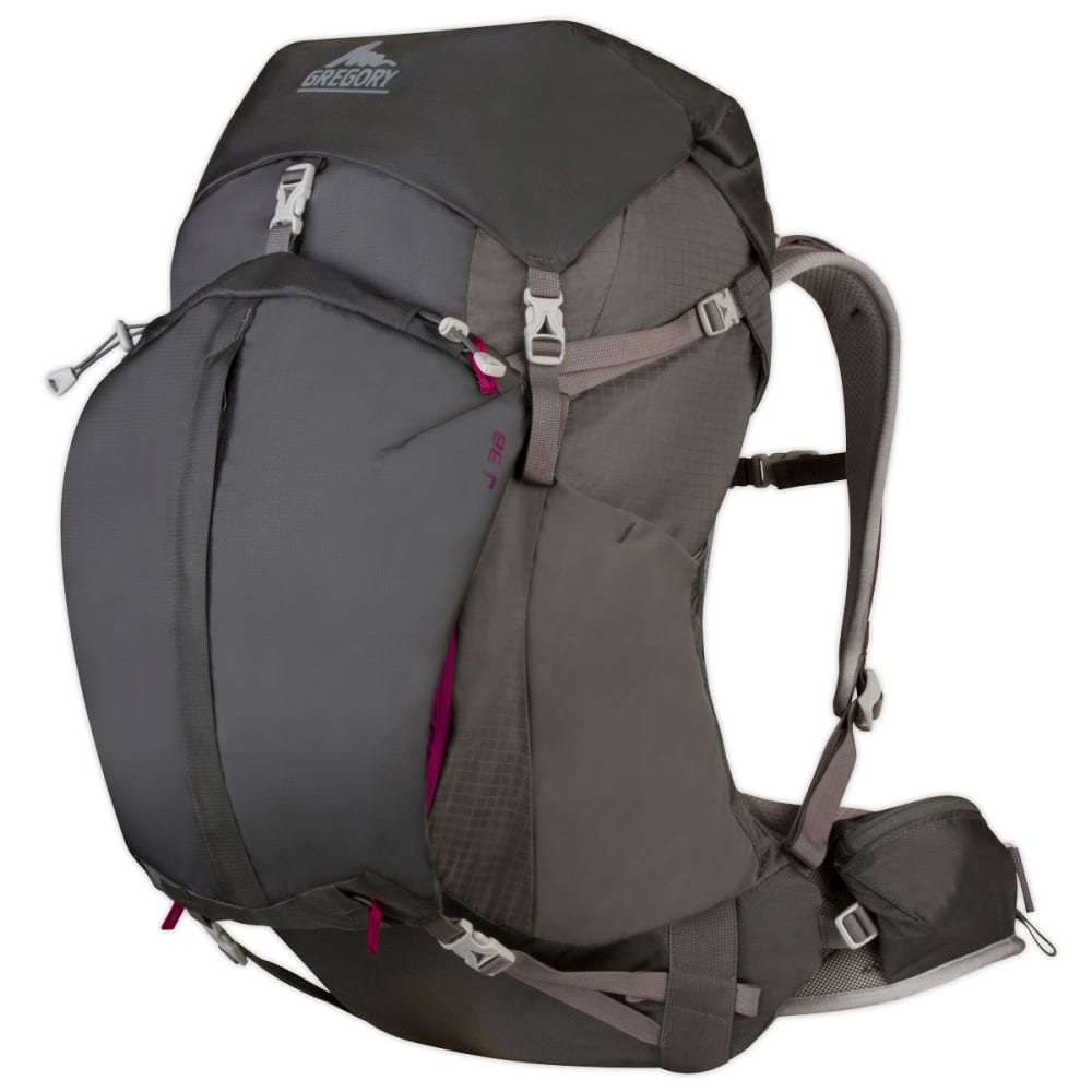 GREGORY Women's J-38 Backpack  - FOG