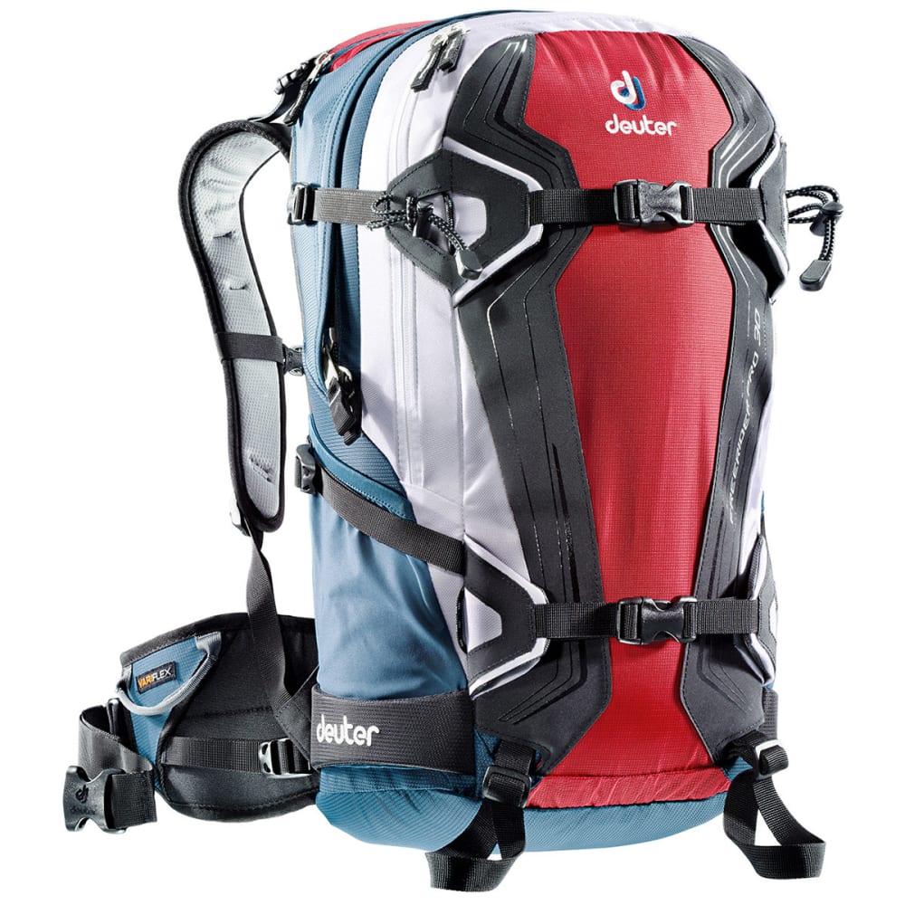 DEUTER Freerider Pro 30 Backpack - FIRE/ ARCTIC