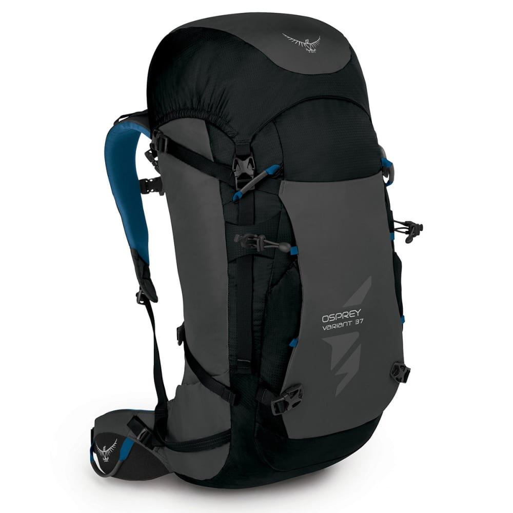 OSPREY Variant 37 Backpack - GALACTIC BLACK